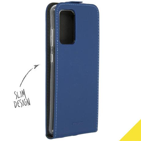 Accezz Flipcase Samsung Galaxy A72 - Donkerblauw (D)