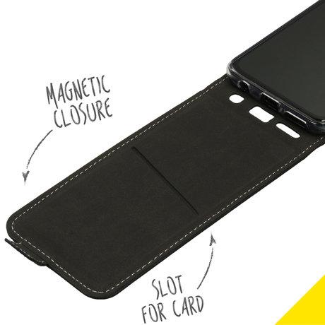 Accezz Flipcase Samsung Galaxy A40 - Zwart (D)