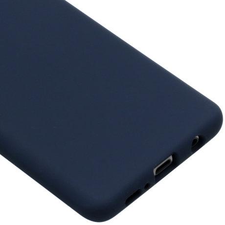 Accezz Liquid Silicone Backcover Samsung Galaxy S10 Plus - Blauw (D)