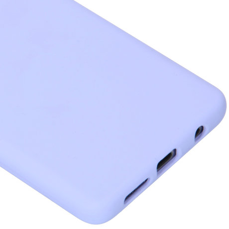 Accezz Liquid Silicone Backcover Samsung Galaxy S10 Plus - Paars (D)
