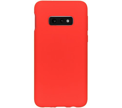 Accezz Accezz Liquid Silicone Backcover Samsung Galaxy S10e - Rood (D)