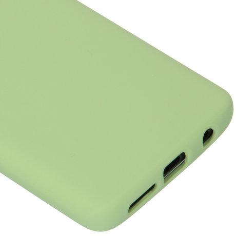 Accezz Liquid Silicone Backcover Samsung Galaxy S9 - Groen (D)