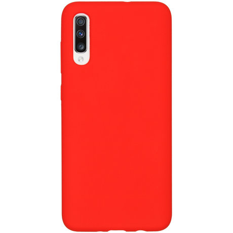 Accezz Liquid Silicone Backcover Samsung Galaxy A70 - Rood (D)