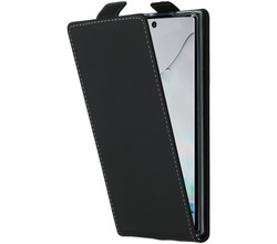 Accezz Accezz Flipcase Samsung Galaxy Note 10 - Zwart (D)