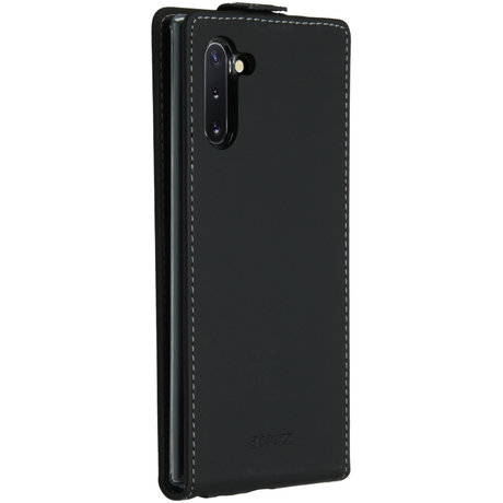 Accezz Flipcase Samsung Galaxy Note 10 - Zwart (D)