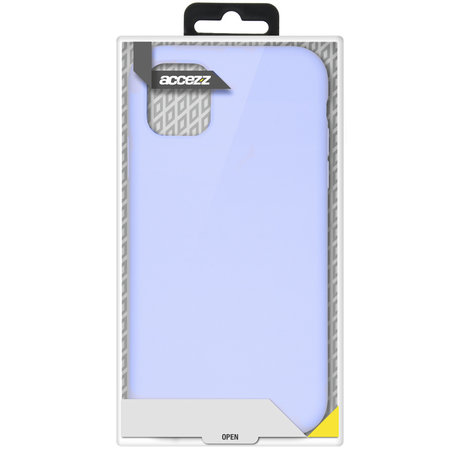 Accezz Liquid Silicone Backcover Samsung Galaxy S20 FE - Lilac (D)