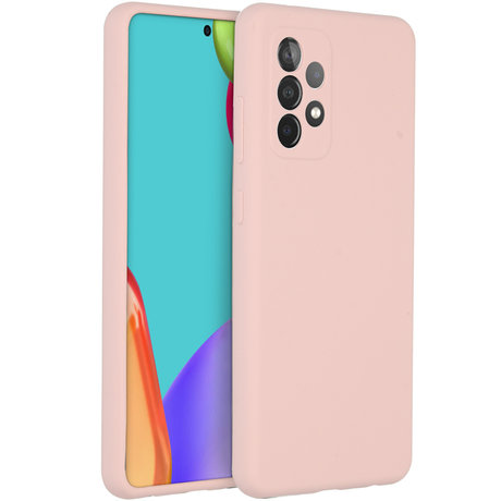Accezz Liquid Silicone Backcover Galaxy A52(s) (5G/4G) - Roze (D)