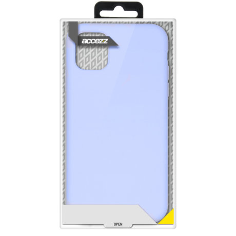 Accezz Liquid Silicone Backcover Galaxy A52(s) (5G/4G) - Paars (D)