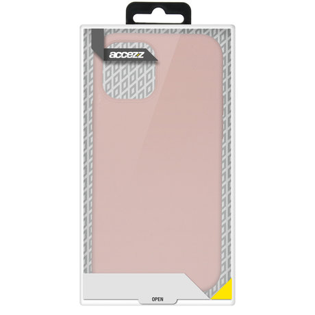 Accezz Liquid Silicone Backcover Samsung Galaxy A72 - Roze (D)