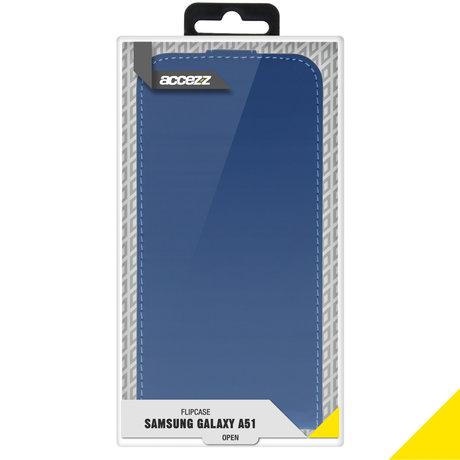 Accezz Flipcase Samsung Galaxy A51 - Blauw (D)
