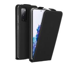 Accezz Accezz Flipcase Samsung Galaxy S20 FE - Zwart (D)