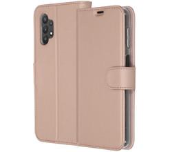 Accezz Accezz Wallet Softcase Booktype Samsung Galaxy A32 (5G) - Rosé Goud (D)