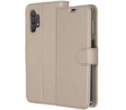 Accezz Accezz Wallet Softcase Booktype Samsung Galaxy A32 (5G) - Goud (D)