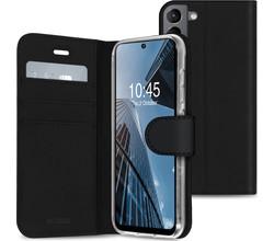 Accezz Accezz Wallet Softcase Booktype Samsung Galaxy S21 FE - Zwart (D)
