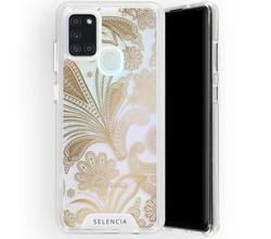 Selencia Selencia Zarya Fashion Extra Beschermende Backcover Galaxy A21s (D)