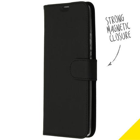Accezz Wallet Softcase Booktype Samsung Galaxy S10 Lite - Zwart (D)