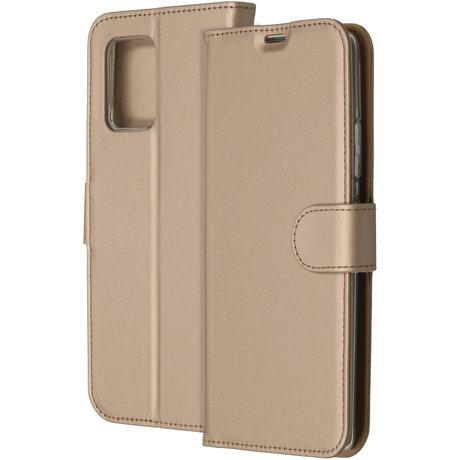 Accezz Wallet Softcase Booktype Samsung Galaxy S10 Lite - Goud (D)