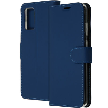 Accezz Wallet Softcase Booktype Samsung Galaxy S20 Plus - Blauw (D)