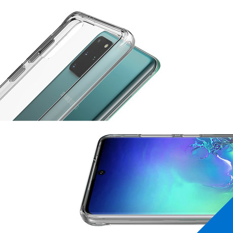 Accezz Xtreme Impact Backcover Galaxy S20 Plus - Transparant (D)