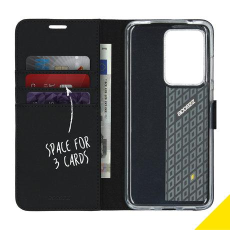 Accezz Wallet Softcase Booktype Samsung Galaxy S20 Ultra - Zwart (D)