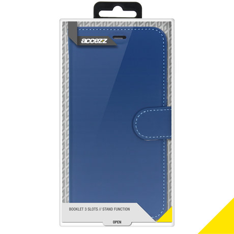 Accezz Wallet Softcase Booktype Samsung Galaxy S20 Ultra - Blauw (D)