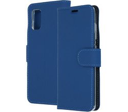 Accezz Accezz Wallet Softcase Booktype Samsung Galaxy A41 - Blauw (D)