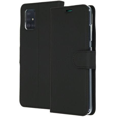 Accezz Wallet Softcase Booktype Samsung Galaxy A51 - Zwart (D)