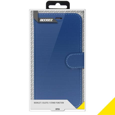 Accezz Wallet Softcase Booktype Samsung Galaxy A71 - Blauw (D)