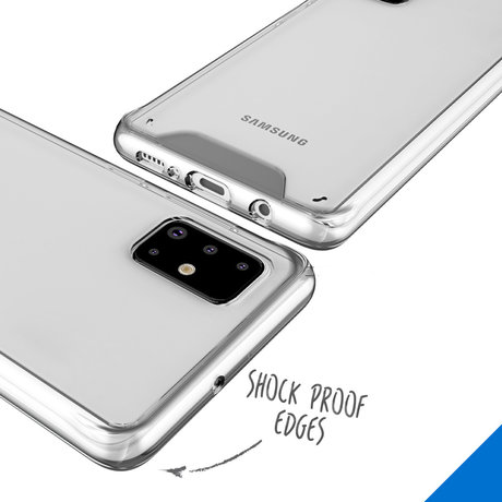 Accezz Xtreme Impact Backcover Samsung Galaxy A71 - Transparant (D)