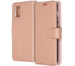 Accezz Accezz Wallet Softcase Booktype Samsung Galaxy A31 - Rosé Goud (D)