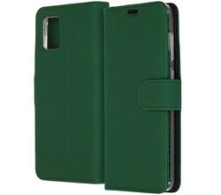 Accezz Accezz Wallet Softcase Booktype Samsung Galaxy A31 - Groen (D)