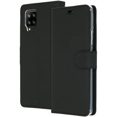 Accezz Wallet Softcase Booktype Samsung Galaxy A42 - Zwart (D)