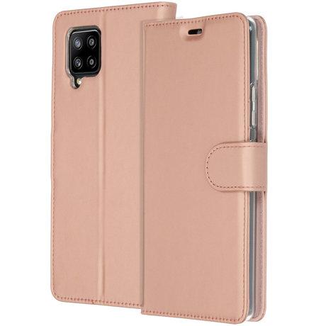 Accezz Wallet Softcase Booktype Samsung Galaxy A42 - Rosé Goud (D)