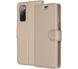 Accezz Accezz Wallet Softcase Booktype Samsung Galaxy S20 FE - Goud (D)