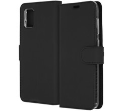 Accezz Accezz Wallet Softcase Booktype Samsung Galaxy A31 - Zwart (D)