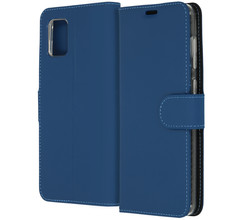 Accezz Accezz Wallet Softcase Booktype Samsung Galaxy A31 - Blauw (D)