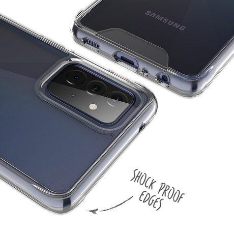 Accezz Xtreme Impact Backcover Samsung Galaxy A72 (D)