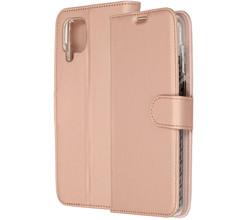 Accezz Accezz Wallet Softcase Booktype Samsung Galaxy A12 - Rosé Goud (D)