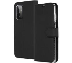 Accezz Accezz Wallet Softcase Booktype Samsung Galaxy A72 - Zwart (D)