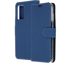Accezz Accezz Wallet Softcase Booktype Samsung Galaxy A72 - Donkerblauw (D)