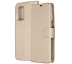 Accezz Accezz Wallet Softcase Booktype Samsung Galaxy A72 - Goud (D)