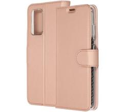 Accezz Accezz Wallet Softcase Booktype Samsung Galaxy A72 - Rosé Goud (D)