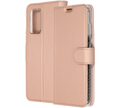 Accezz Accezz Wallet Softcase Booktype Galaxy A52(s) (5G/4G) - Rosé Goud (D)