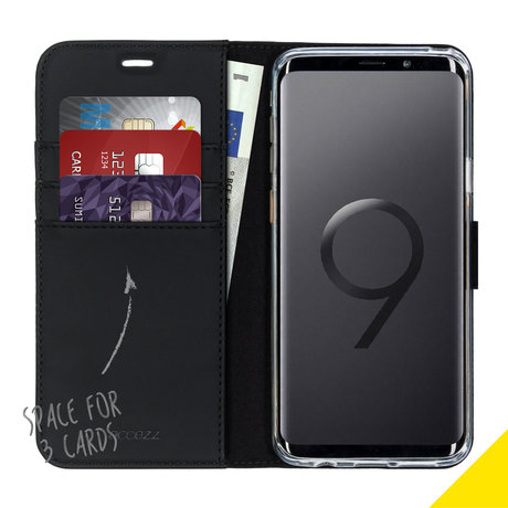 Accezz Wallet Softcase Booktype Samsung Galaxy S9 Plus (D)