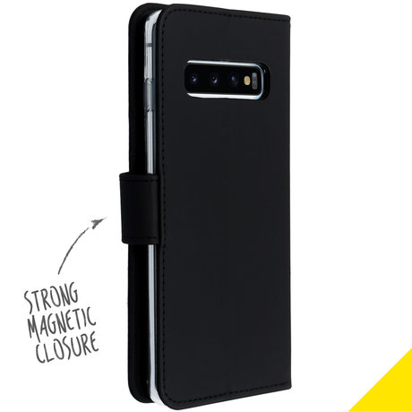 Accezz Wallet Softcase Booktype Samsung Galaxy S10 (D)