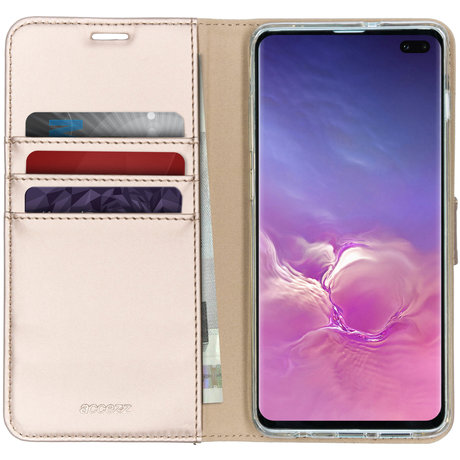 Accezz Wallet Softcase Booktype Samsung Galaxy S10 Plus (D)