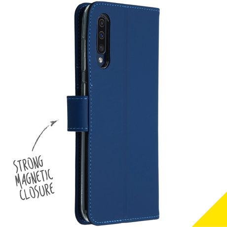 Accezz Wallet Softcase Booktype Samsung Galaxy A50 / A30s - Blauw (D)