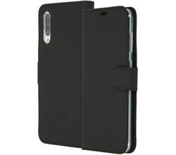 Accezz Accezz Wallet Softcase Booktype Samsung Galaxy A70 - Zwart (D)