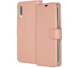 Accezz Accezz Wallet Softcase Booktype Samsung Galaxy A70 - Rosé Goud (D)