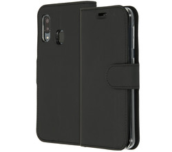 Accezz Accezz Wallet Softcase Booktype Samsung Galaxy A20e - Zwart (D)